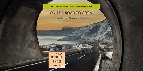 On the road to COP26: Lunchtime Seminar Series tickets