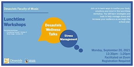 Wellness Talks - Stress Management tickets