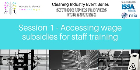 Cleaning Industry - Setting up your Employees for Success tickets