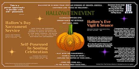 Halloween Event - Vigil & Seance tickets