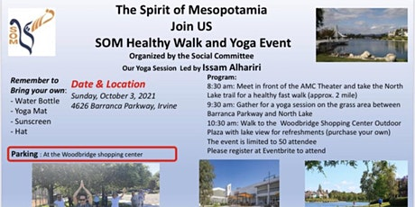 SOM Healthy Walk and Yoga Event tickets