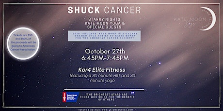 Kate Moon Yoga Starry Nights Yoga Series: co-hosted with Kor4 Elite Fitness tickets