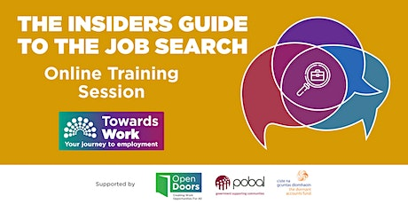 Towards Work Training- The Insiders Guide to the Job Search tickets