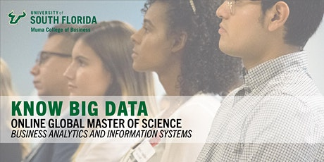 Online Global M.S. in Business Analytics and Info. Systems  from U.S.F. ingressos