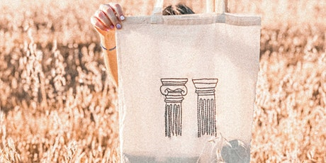 Embroider your own tote bag (workshop) tickets