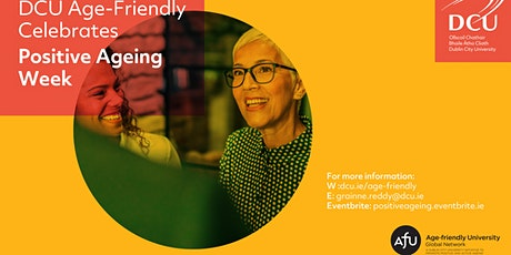 Positive Ageing Week 2021 tickets