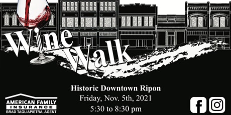 Downtown Ripon Holiday WineWalk tickets