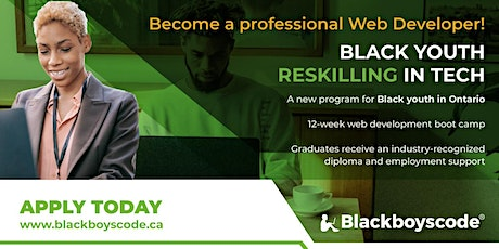 Black Boys Code Reskilling Program - Introduction to HTML/CSS - Sep 30th tickets