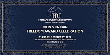 2021 John S. McCain Freedom Award Celebration tickets
