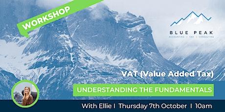 VAT - Understanding the Essentials of UK Value Added Tax tickets