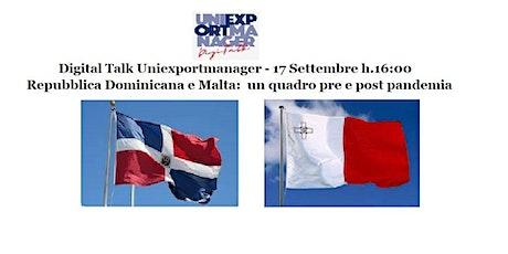 Repubblica Dominicana e Malta:  un quadro Business pre e post pandemia boletos