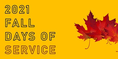 Fall Days of Service 2021 tickets