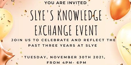 SLYE's Knowledge Exchange Event tickets