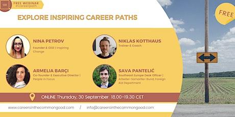 Explore Inspiring Career Paths biglietti