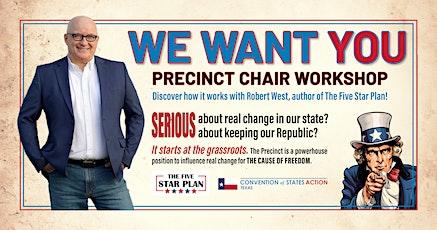 The Five Star Plan Precinct Chair Workshop tickets