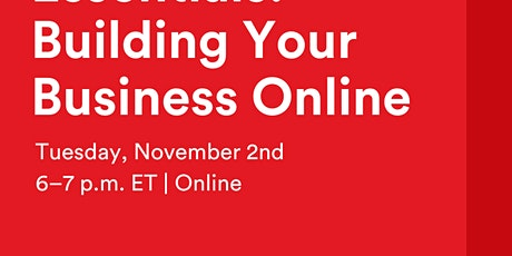 GA Webinar | eCommerce Essentials: Building Your Business Online tickets