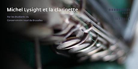 Michel Lysight et la clarinette tickets