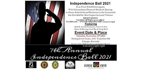 7th Annual Independence Ball tickets