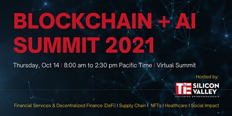 Blockchain + AI Summit 2021 tickets