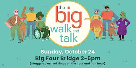 The Big Walk and Talk tickets