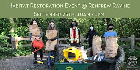 Habitat Restoration Event at Renfrew Ravine tickets
