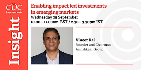 Enabling impact led investments in emerging markets tickets