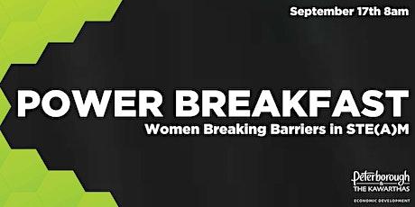 Power Breakfast: Women Breaking Barriers in STE(A)M tickets