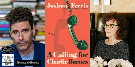 P&P Live! Joshua Ferris   A CALLING FOR CHARLIE BARNES with Lynne Tillman tickets
