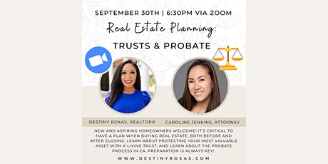Real Estate Planning: Trusts & Probate tickets