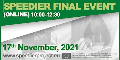 SME program for energy efficiency: SPEEDIER Service Final Event tickets