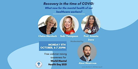 Recovery in the time of COVID - World Mental Health Day 2021 tickets