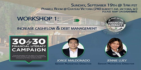 Workshop 1: Debt Management and Increasing Cash Flow tickets