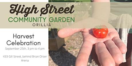High Street Community Garden Harvest Celebration tickets