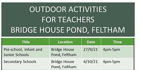 Delivering An Outdoor Curriculum Pre-School -Primary Teacher Training Event tickets
