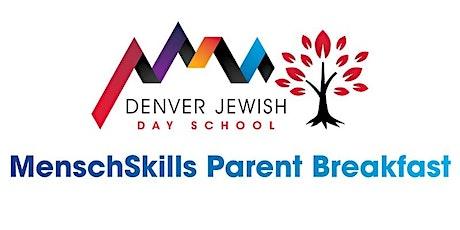 MenschSkills Parent Breakfast #1 2021-22 tickets
