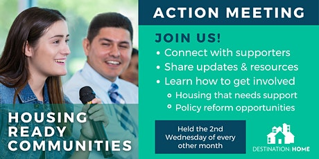 Housing Ready Communities Action Meeting  (virtual) tickets