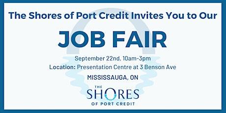The Shores of Port Credit Job Fair! tickets