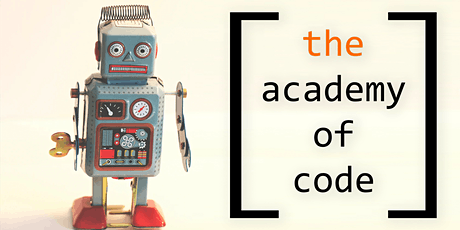 Coding Week with The Academy of Code for ages 8-10 tickets