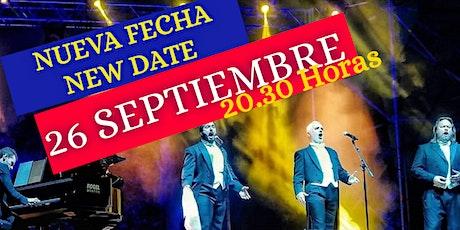 LOS 3 TENORES EN CONCIERTO EL ALBIR. 26 SEPTIEMBRE entradas