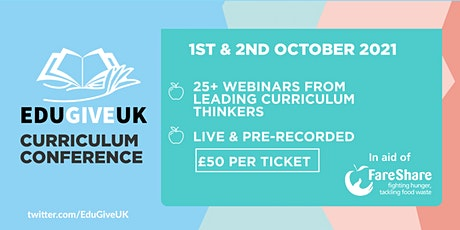 EduGiveUK Curriculum Conference tickets