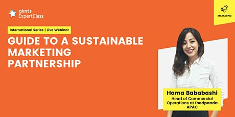 [GEC International Series] Guide to a Sustainable Marketing Partnership tickets