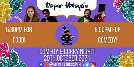 Comedy and Curry Night at Dapur Malaysia with Kellii! Taylor! tickets