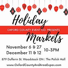 Holiday Markets tickets
