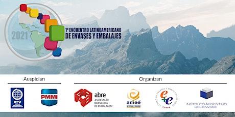 1er Encuentro Latinoamericano de Envases y Embalajes 2021 entradas