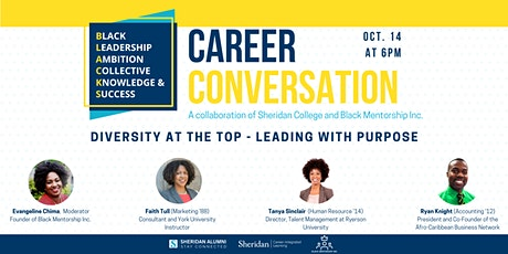 Diversity at the Top - Leading with Purpose tickets