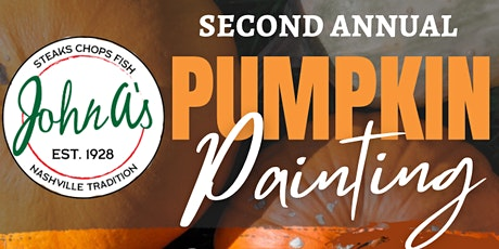 2nd Annual Pumpkin Painting tickets