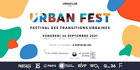 Urban Fest : le festival des transitions urbaines billets