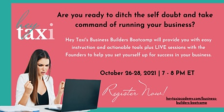 Business Builders Bootcamp tickets