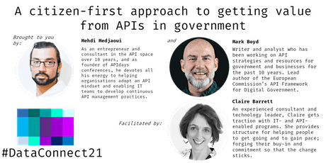 A citizen-first approach to getting value from APIs in government tickets