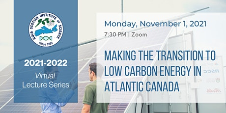 Making the Transition to Low-Carbon Energy in Atlantic Canada tickets